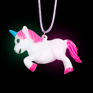 Light-Up Unicorn Necklace