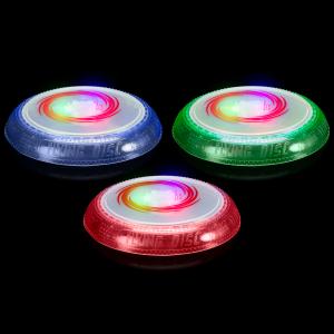 LED Rainbow Flying Disc/Frisbee