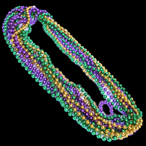 "33"" Mardi Gras Beads (12pcs/pack)"