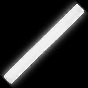 LED Light-Up Foam Stick Baton Supreme- White