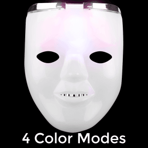 LED Light-Up Dual Halloween Mask