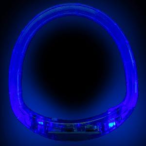 LED Flashing Bracelet - Blue