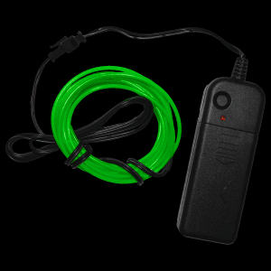 6.5 Foot Light-Up EL Wire - Green