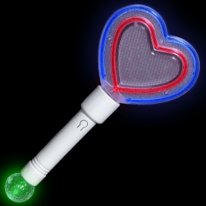 Rave Lights Party Heart Wand