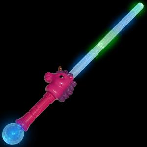 Unicorn Light Up Saber Sword