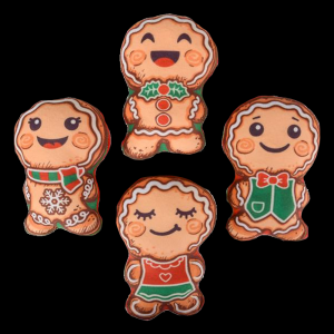 "5"" Gingerbread Cookie Plush"