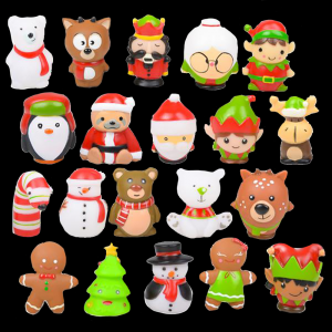 "2"" Christmas Character Assortment"