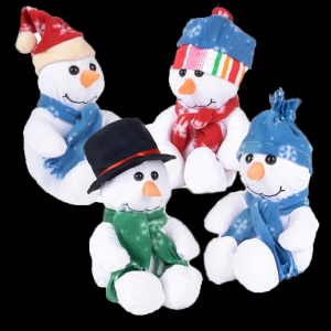 "10"" Plush Snowman (Assorted)"