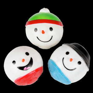 Sticky Splat Snowman Ball- Assorted