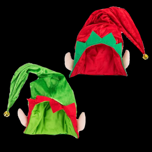"28"" Jumbo Elf Hat- Assorted"