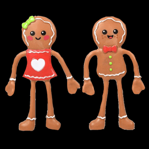 "4"" Bendable Gingerbread- Assorted"