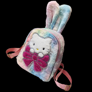 Plush Luminous LED Cute Backpack-Kitty