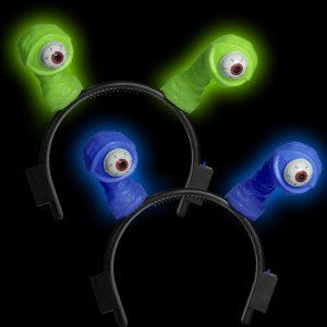 LED Flashing Eyeball Headbands