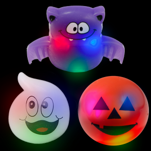 Halloween Ghouls LED Flashing Rings
