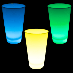 Glow in the Dark LED Light Up Cup - 12oz