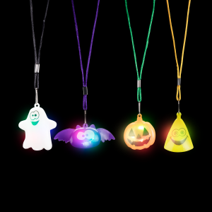 LED Halloween Necklaces