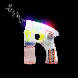 "6"" Light-Up Bubble Blaster Gun with Sound"