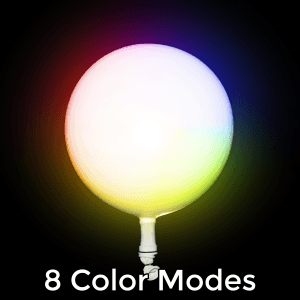 LED Light Up 14 Inch Blinky Balloons - Multicolor