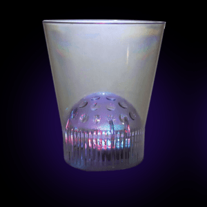 LED Light Up Disco Projector Cup - 8oz