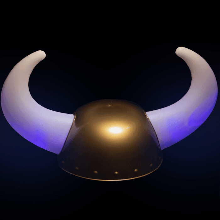 LED Light Up Viking Helmet