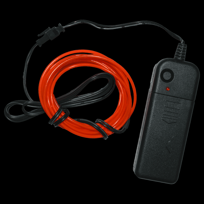 7 Foot Light-Up EL Wire-Red