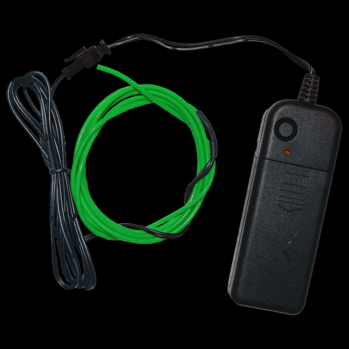 3 Foot Light-Up EL Wire - Green