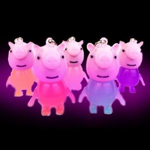 LED Light-Up Paige Keychain-Mix color