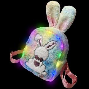 Plush Luminous LED Cute Backpack-Rabbit