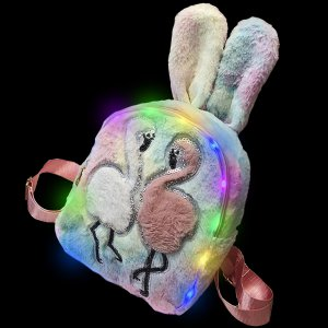 Plush Luminous LED Cute Backpack-Ostrich
