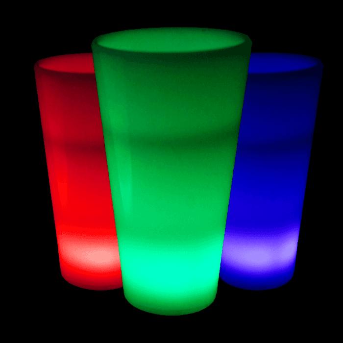 Glow in the Dark LED Light Up Shot Glass - 2 oz