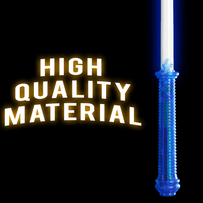 Jumbo Super Blue Light-Up Sword