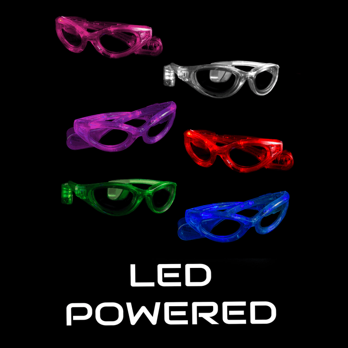 LED Light-Up Sunglasses