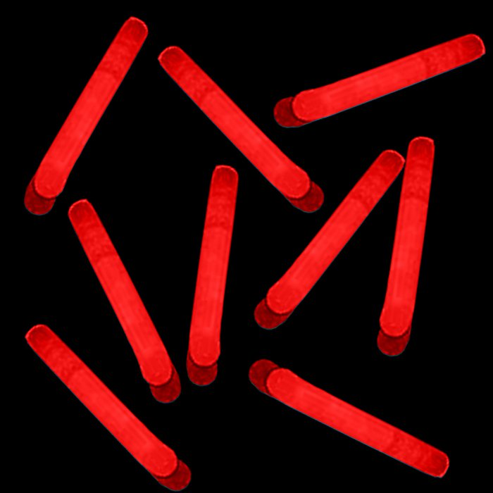 1.5 Inch Mini Sticks - Red