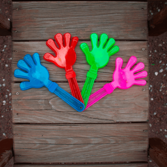 Light-Up Hand Clappers