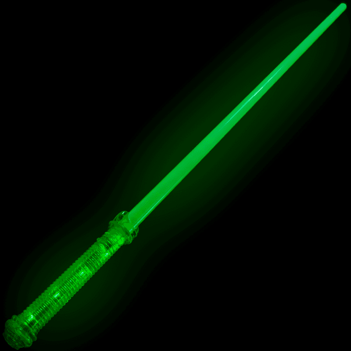 Jumbo Super Green Light-Up Sword