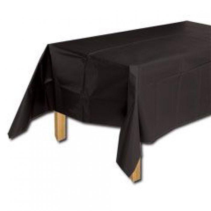 225 & Black Plastic Table Cover