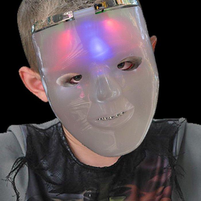 LED Light-Up Dual Halloween Mask