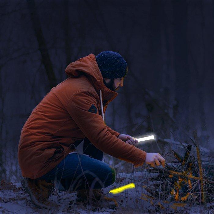 12 Hour Emergency Light Sticks - Mix Colors
