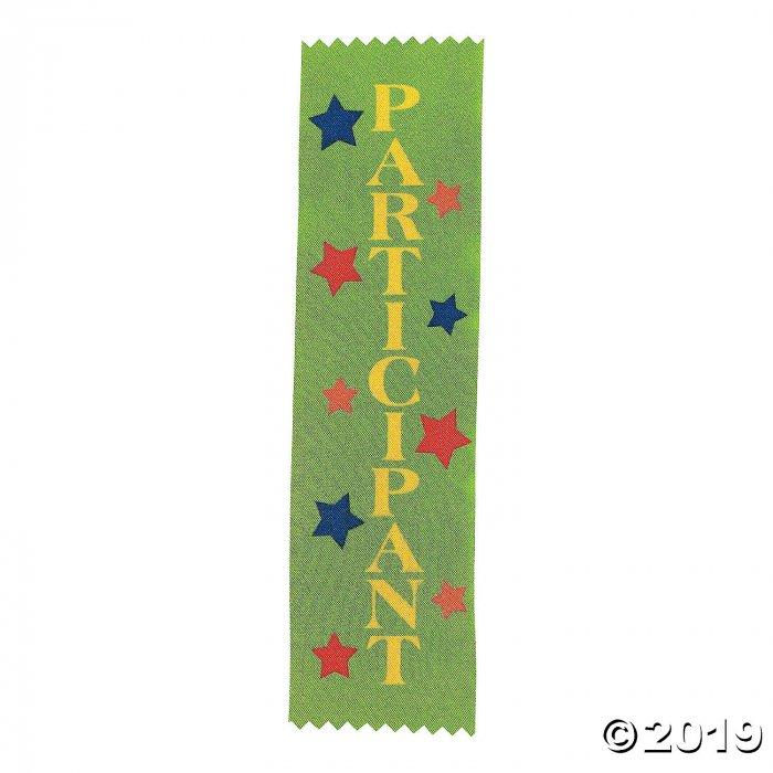 Participant Green Award Ribbons (Per Dozen)