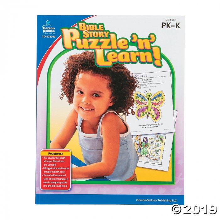 Carson-Dellosa™ Bible Story Puzzle 'n' Learn Book - Pre-K-K (1 Piece(s))
