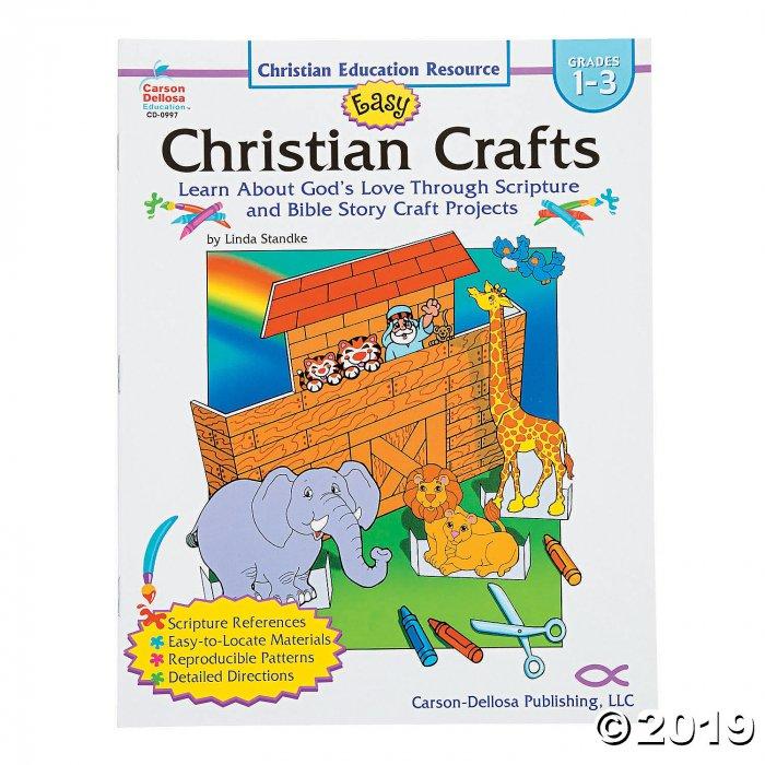 Carson-Dellosa™ Easy Christian Crafts & Ideas Book - Grades 1-3 (1 Piece(s))