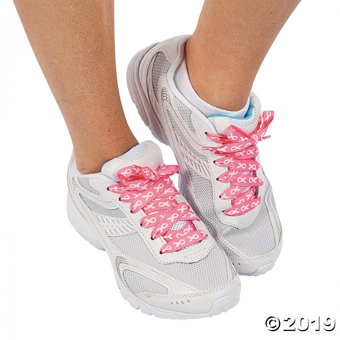 Breast Cancer Awareness Shoelaces (6 Pair)
