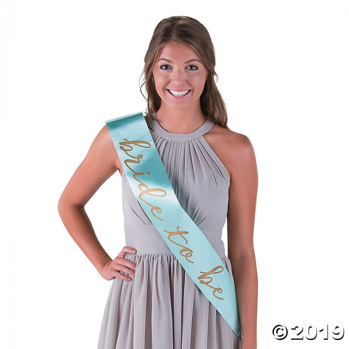 Mint Green I Do Bride to Be Bachelorette Party Sash (1 Piece(s))