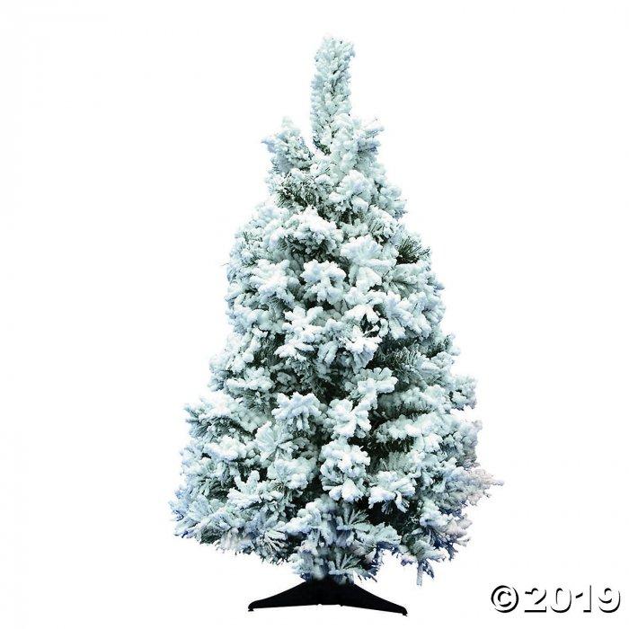 Vickerman 36 Flocked Alaskan Pine