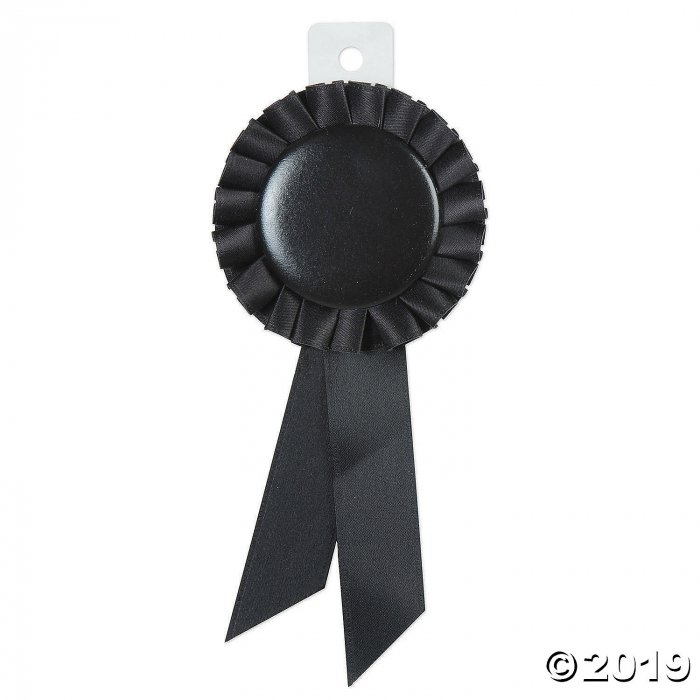 Black Spirit Award Ribbon (1 Piece(s))