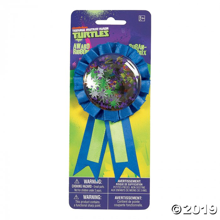 Teenage Mutant Ninja Turtles™ Confetti Pouch Award Ribbon (1 Piece(s))