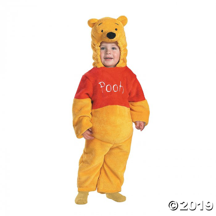 Baby/Toddler Deluxe Plush Winnie the Pooh™ Pooh Costume - 12-18 Months (1 Piece(s))