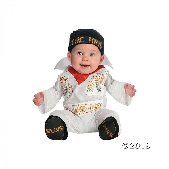 Baby Boy's Elvis Presley Costume - 0-6 Months (1 Piece(s))