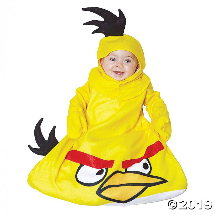Baby Yellow Angry Birds Costume (1 Piece(s))