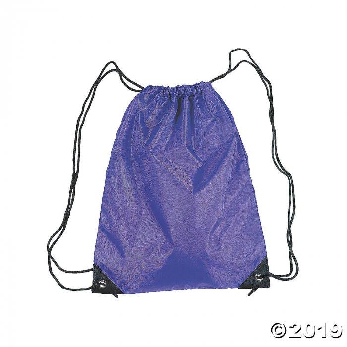 Large Purple Drawstring Bags (Per Dozen)